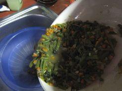 Crujientes de verdura con bechamel
