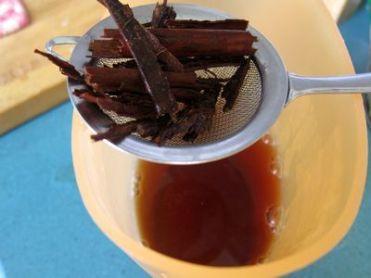 Infusión fría de té verde y canela para el verano
