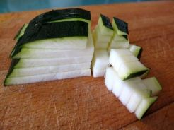 Pimientos verdes rellenos de quinoa con verduritas 06