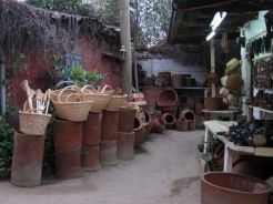 Cestería y cerámica