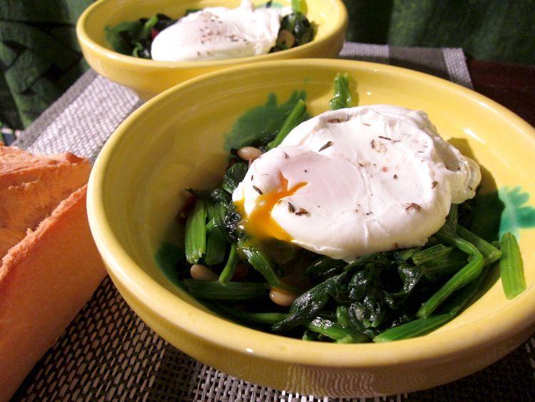 espinacas-salteadas-con-huevo-poche-13