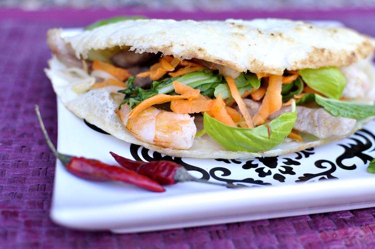 Banh Xeo, el crepe vietnamita
