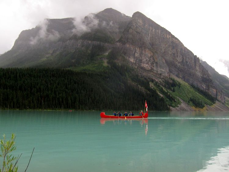Lake Moraine, Lake Louise