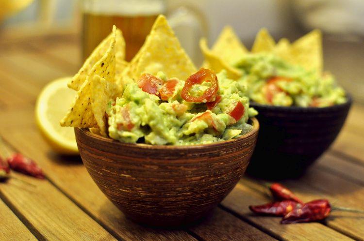 receta de salsa guacamole
