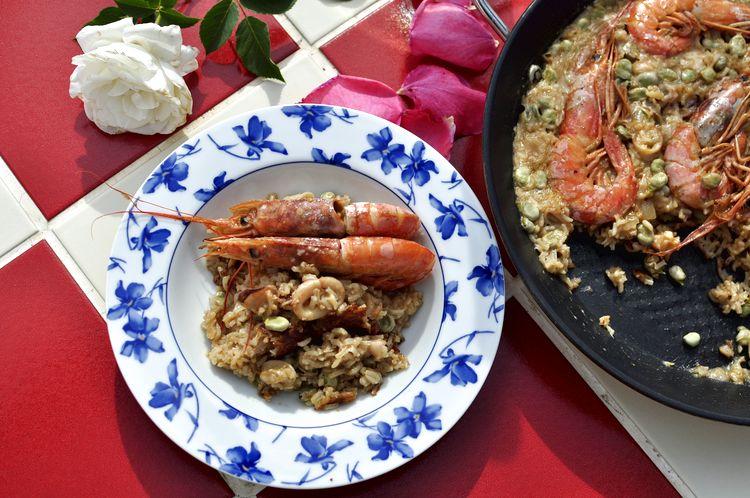 arroz-con-calamares-gambones-y-habas-13