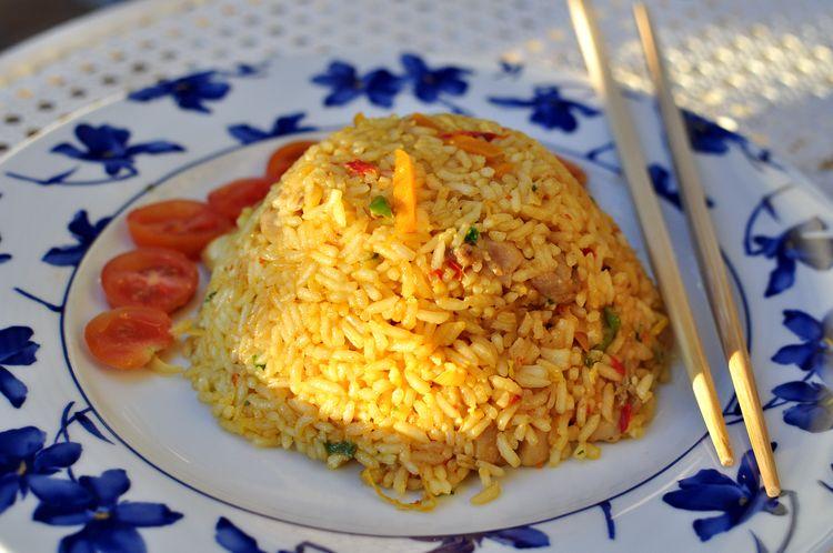 Nasi goreng receta de Indonesia
