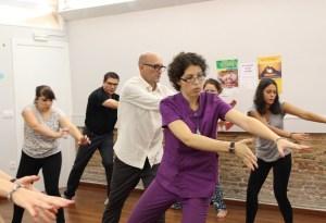 Mónica Larruy profesora chi kung