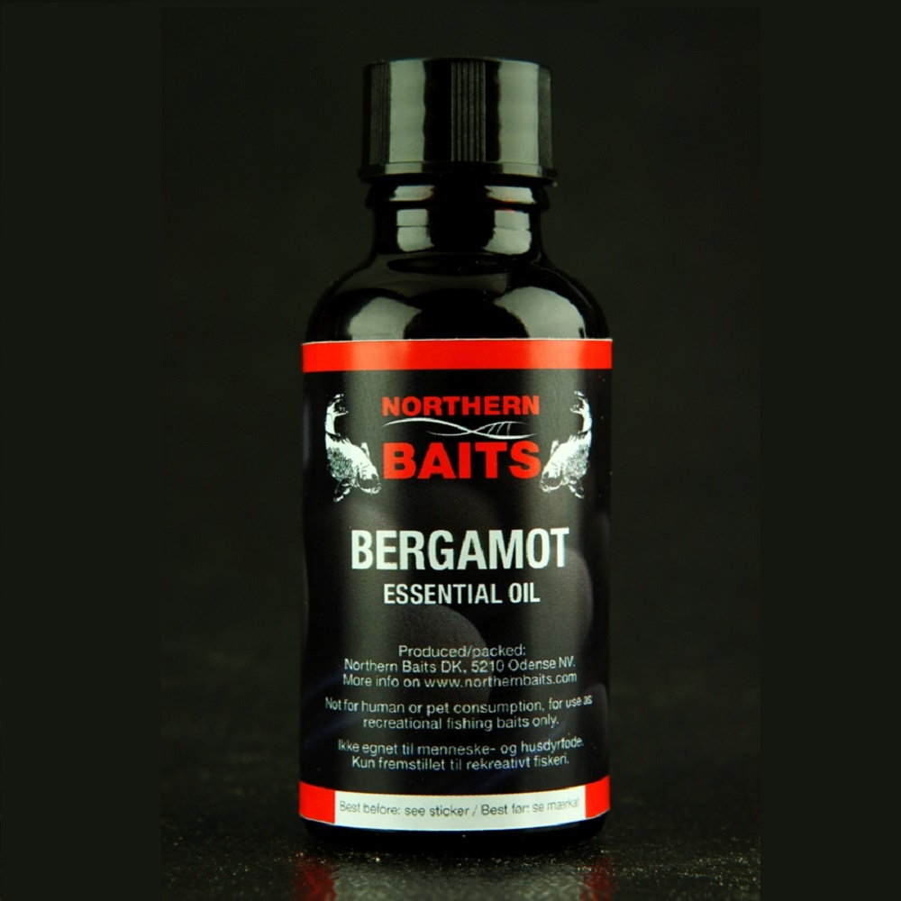 NORTHERN BAITS BERGAMOT ESSENTIAL OIL 40 ML EL CARPODROMO