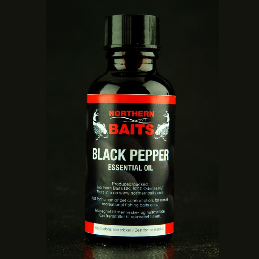 NORTHERN BAITS BLACK PEPPER ESSENTIAL OIL 40 ML EL CARPODROMO