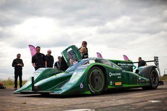 Установлен новый рекорд скорости для легких электрокаров — 328,6 км/час