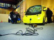 В Украине стартовало первое производство электромобилей.