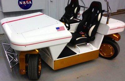 В NASA создали электромобиль