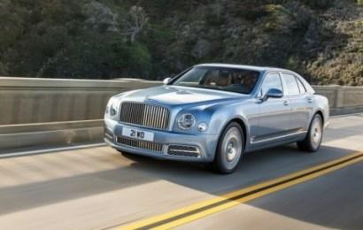 Еще один автомобиль станет электро Bentley Mulsanne