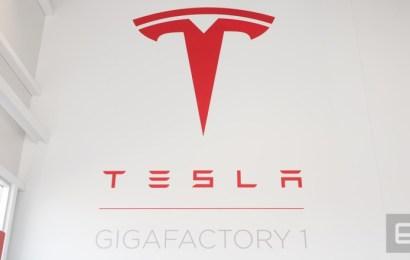 Фотоотчёт по фабрике Тесла