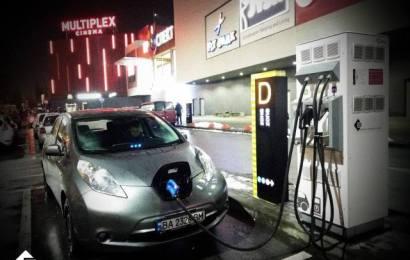 Еще одна скоростная зарядка в Киеве