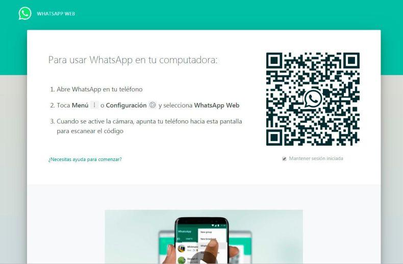 Whatsapp Web / Archivo