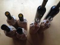 Tast de vins a cegues de les coop al Castell del Vi