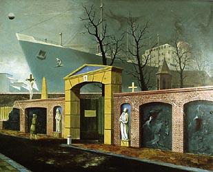 Alter Friedhof vor der Werft, 1954-Radziwill