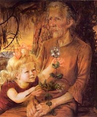 Mother and Eva 1933-Otto-Dix