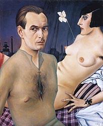 Self-Portrait, 1927-Schad