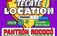 ¡REVELAN EL LINE-UP DEL TECATE LOCATION VERACRUZ 2020!