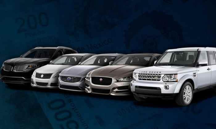 Los autos de lujo están de fiesta en México.