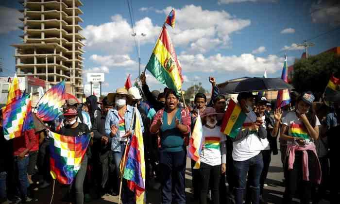 Crisis en Bolivia (Reuters)