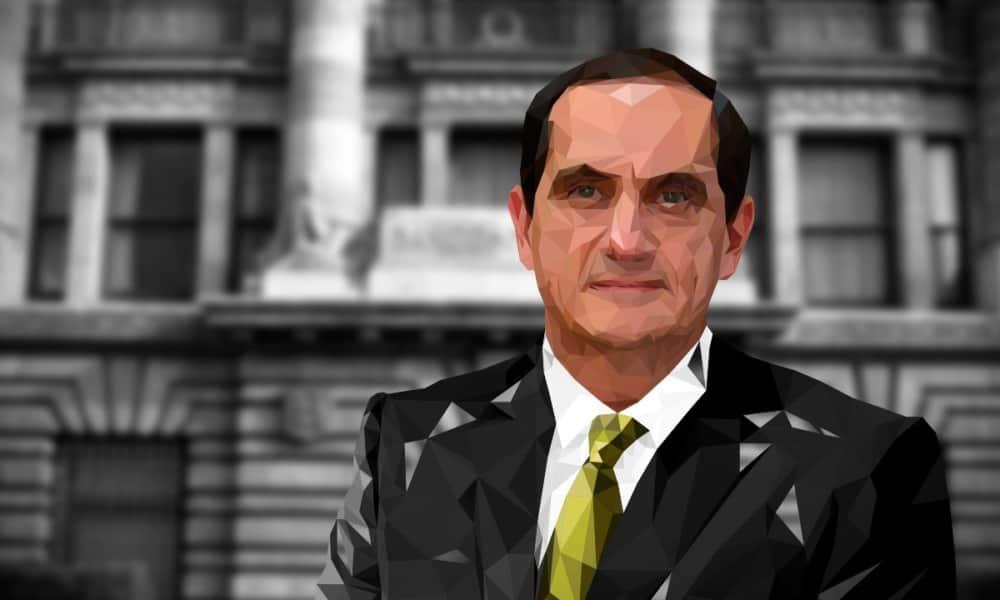 Javier Guzmán, subgobernador de Banxico (Ilustración: Daniel Vizcarra)