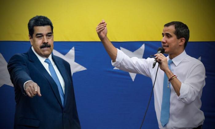 Maduro Guaidó