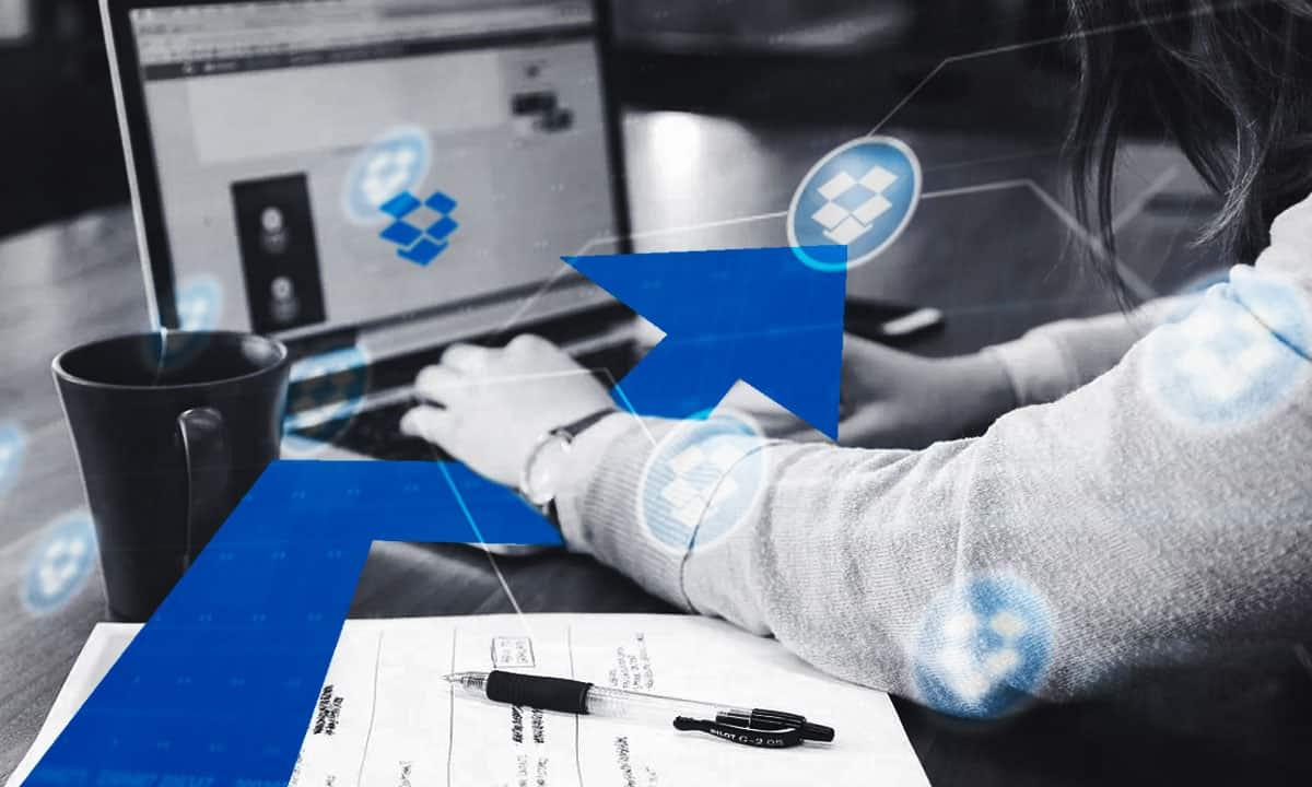 Dropbox crece ante la demanda del trabajo vía remota