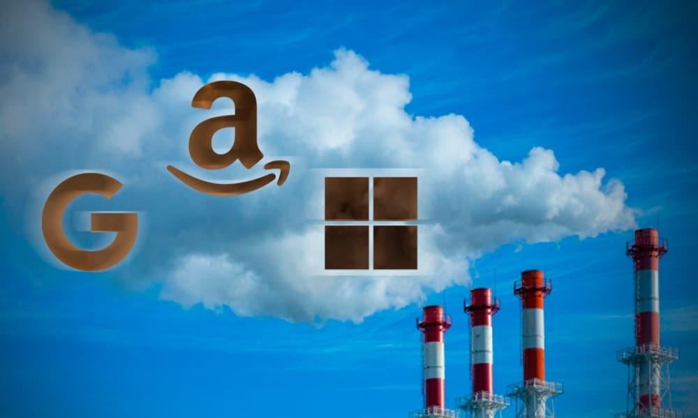 Google, Amazon y Microsoft tienen la tecnología para ayudar al mercado de petróleo y gas