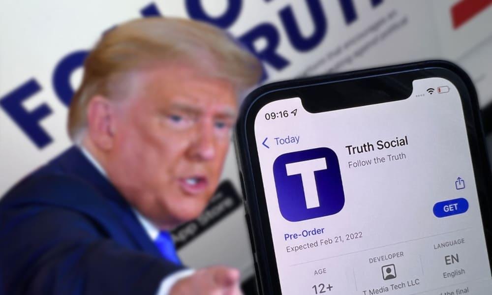 cotización DWAC red Trump