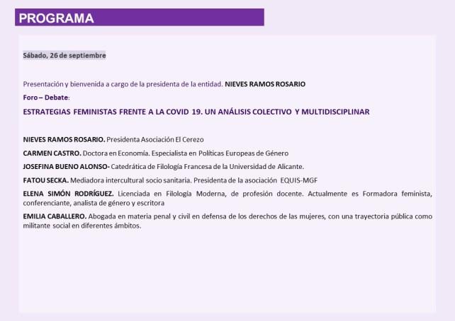 XXI Encuentro Intercultural de Mujeres