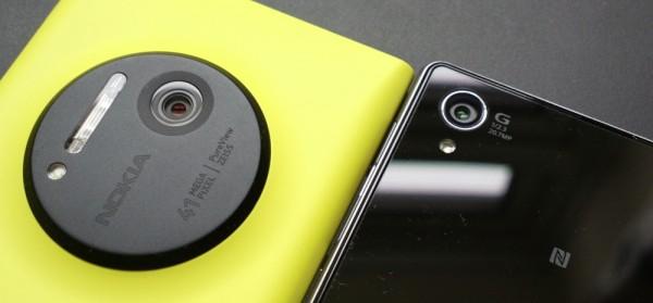 Sony Xperia Z1 vs Nokia Lumia 1020