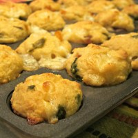 Roasted Poblano and Yellow Pepper Corn Muffins