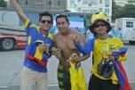 Ecuatorianos quienes nos vendieron las entradas