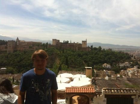 La Alhambra y yo :)