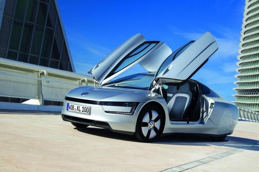 Volkswagen's XL-1, a 300 MPG Wonder Car