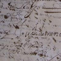 1699 contrato de la balconada de hierro del palacio de los Navarrete Ladrón de Guevara