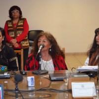 La Comunidad Warpe del Territorio del Cuyum se hizo presente en la sesión del Consejo Superior de la Universidad Nacional de San Juan
