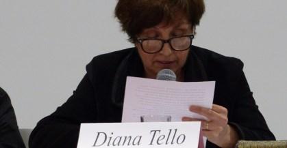 Diana tello en el Coloquio Internacional