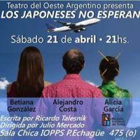 Teatro: LOS JAPONESES NO ESPERAN