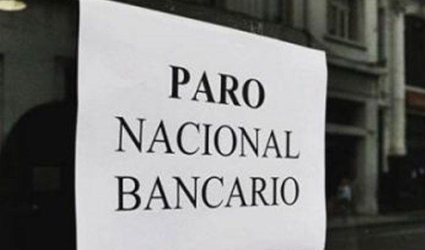Paro nacional: bancos adhieren a la medida