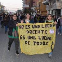 Chubut: Tras la muerte de las docentes en lucha se decretó paro nacional
