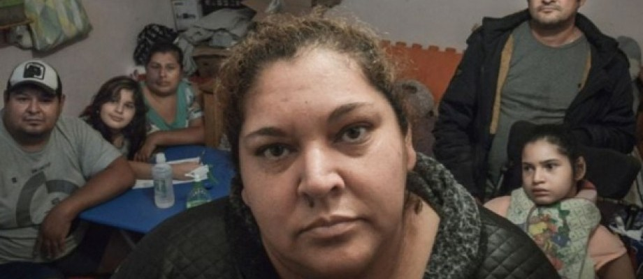 Ramona Media, referente de la Villa 31 y vocera de La Garaganta Poderosa, murió por coronavirus. Foto Télam.