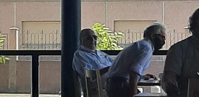 Imagen de Juan Carlos Yanello en el café de la Estación de Servicio Shell en la ciudad de San Juan. Fuente: Portal Juicios de Lesa Humanidad - San Juan.