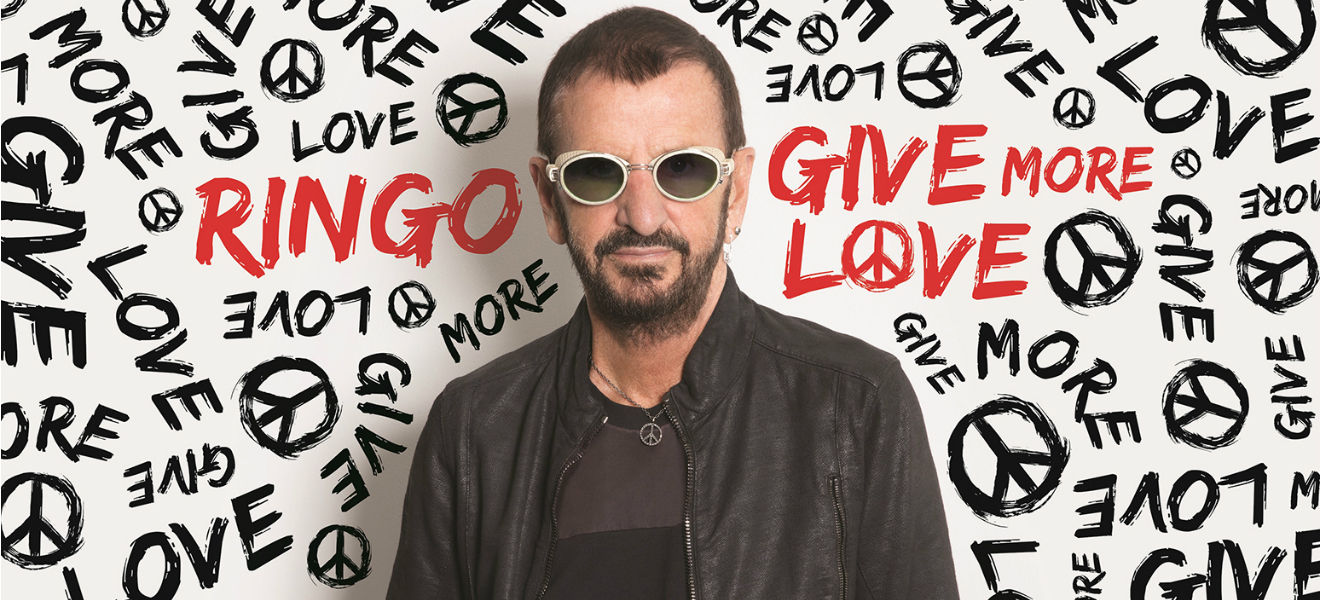 Ringo Starr, Give More Love. La frescura del rock optimista.