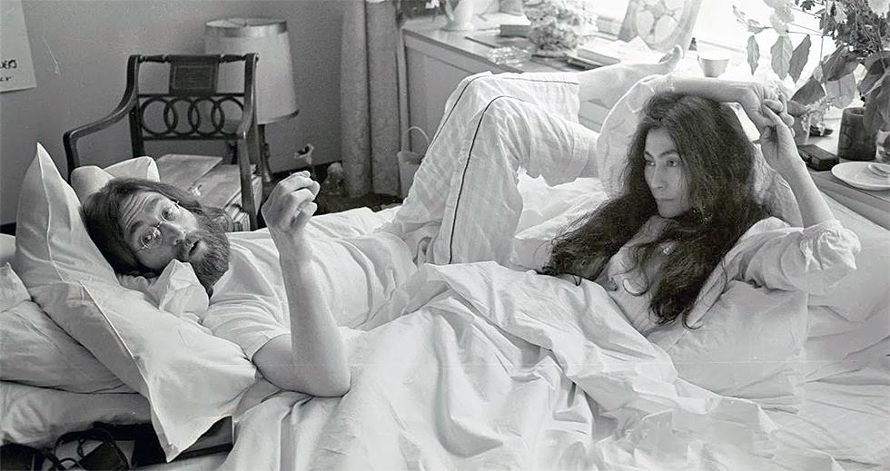 John y Yoko en la cama: los bed-ins