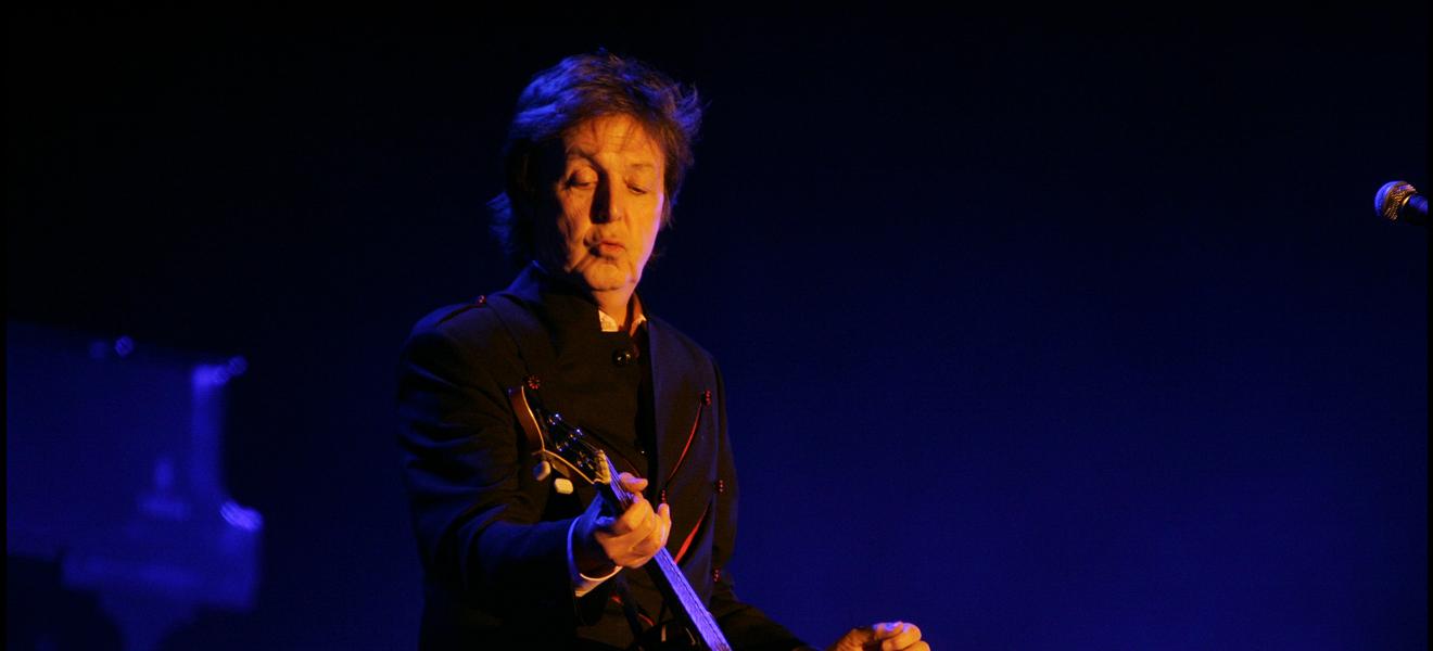 Paul McCartney, sus discos en concierto.