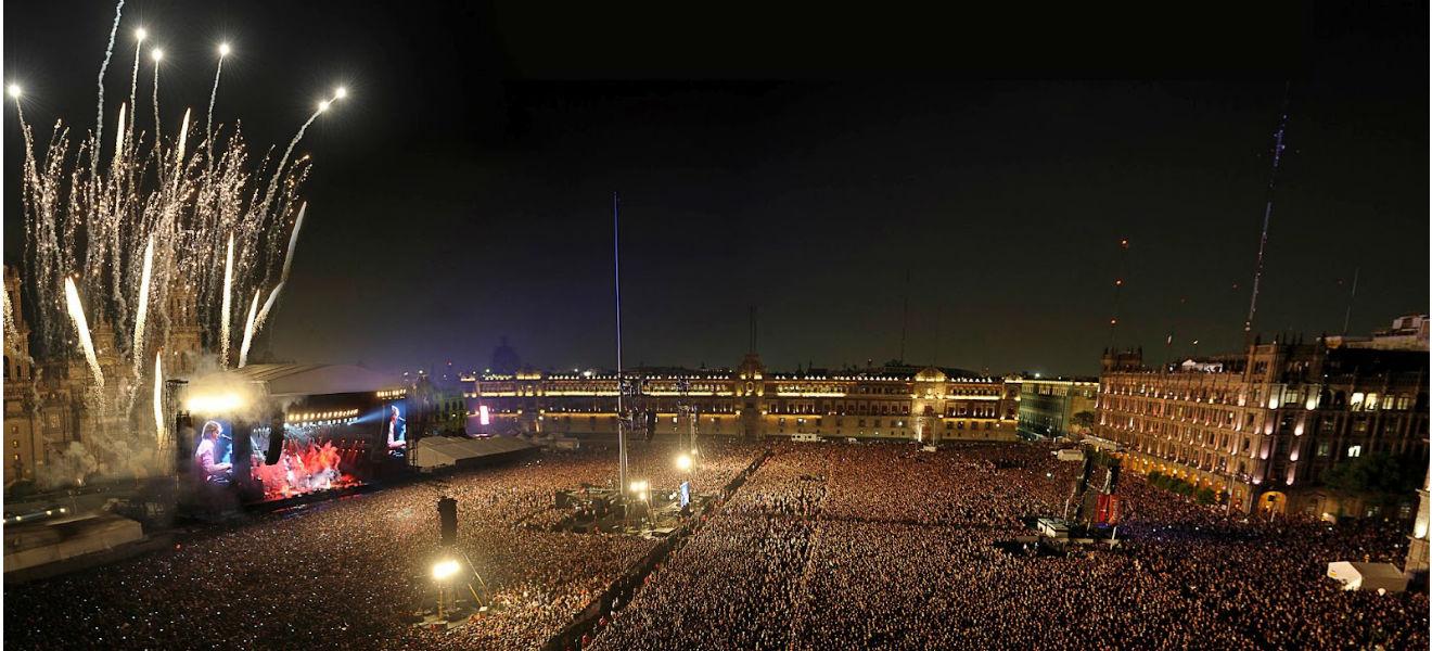 Paul McCartney en el Zócalo de la Ciudad de México. La maravillosa noche de un día difícil.